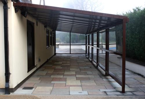 The simplicity 25 walkway canopy carport veranda for Victorian carport
