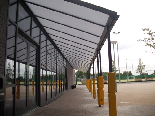 The Simplicity 25 Walkway Canopy Carport Veranda