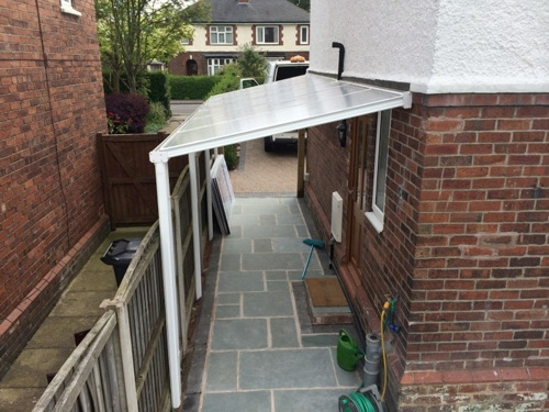 The Simplicity 16 Walkway Canopy