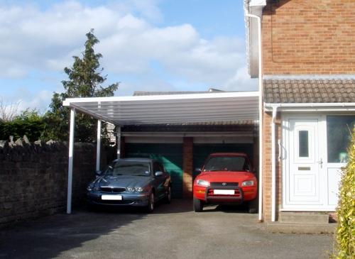 Simplicity 35 Aluminium Carport installed in Somerset
