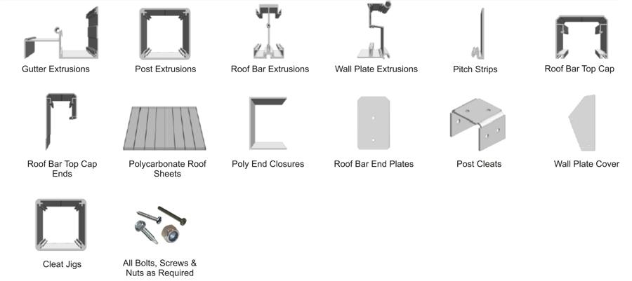 Carports Canopies And Verandas Kits