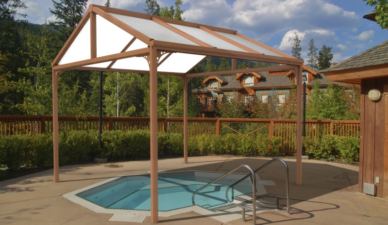 Hot Tub Canopy : Hot tub canopies