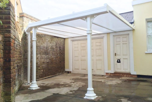 The simplicity 35 carport and canopy system for Victorian carport