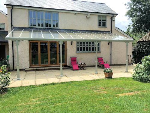 The Simplicity 6 Trade Glass Veranda Amp Carport System