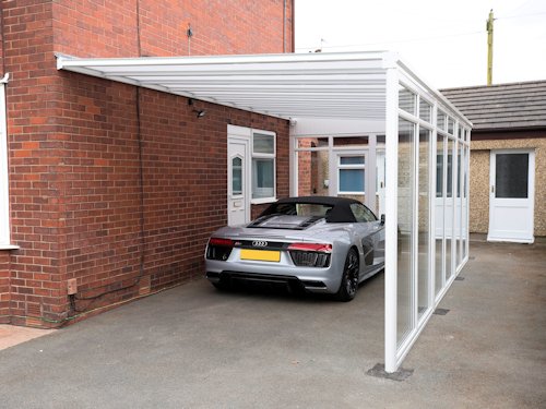 ideal for cost effective carports and garden canopies