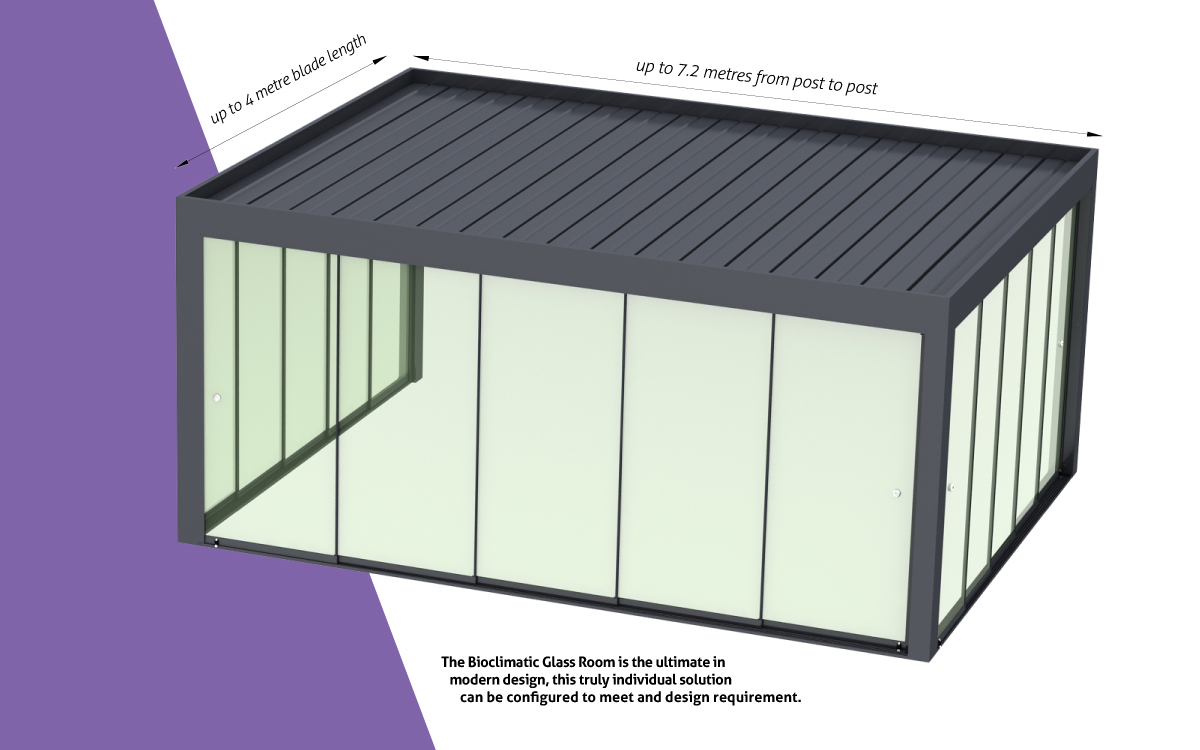 Bioclimatic Roof Options