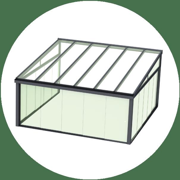 Contemporary Glass Room Kits