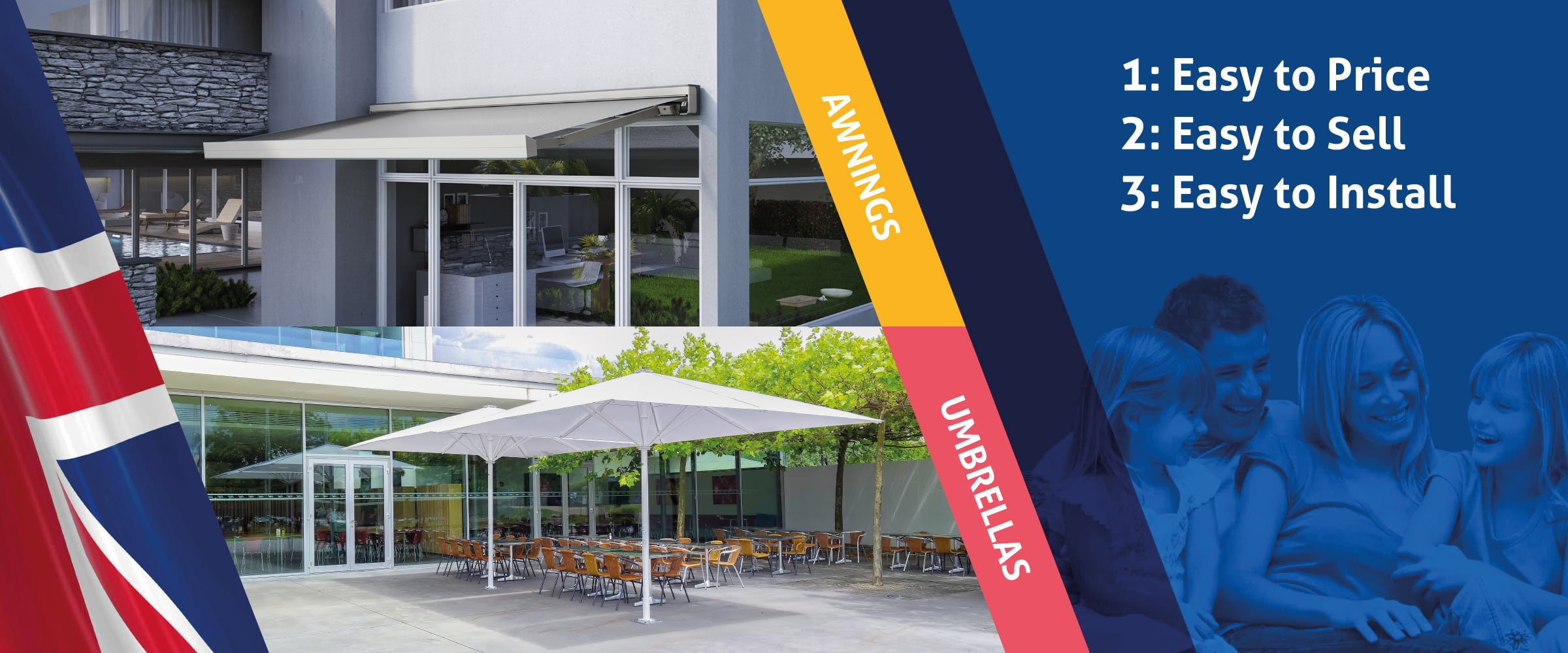Awnings Umbrella Kits