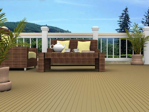 Fire Resistant Balcony Decking