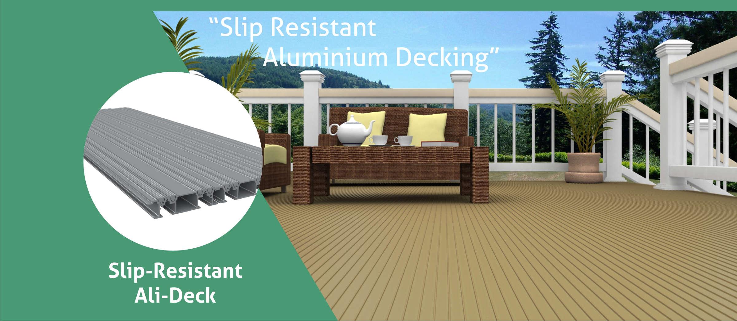Slip Resistant Ali-Deck