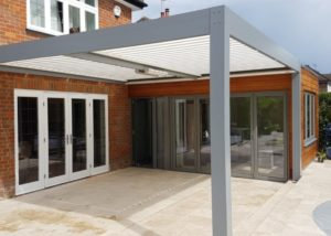 Bioclimatic Pergola Little Chalfont Hertfordshire Alfresco Living