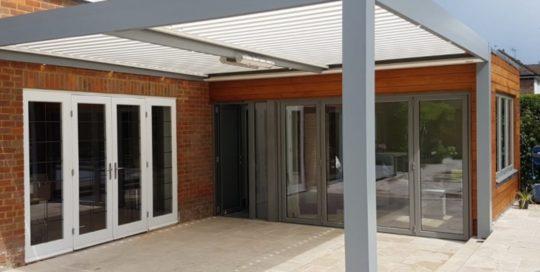 Bioclimatic Pergola Little Chalfont Hertfordshire Alfresco Living