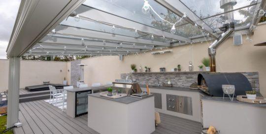 Alfresco Traditional Lee UPVC Outdoor Kitchen