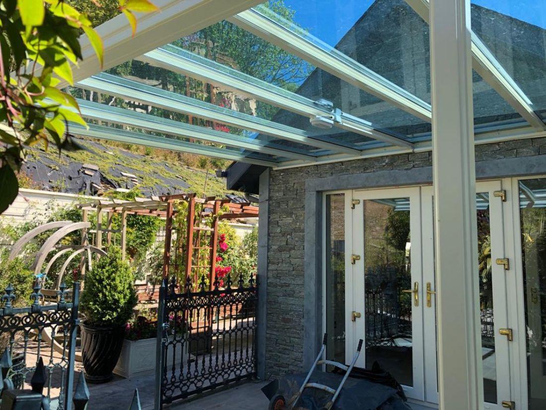 Glass Garden Veranda Roofit Ireland
