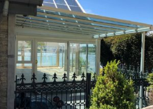 Glass Veranda Tinted Glass Roofit Ireland