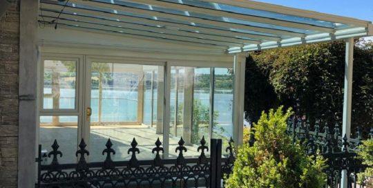 Glass Veranda Tinted Glass Roofit Ireland