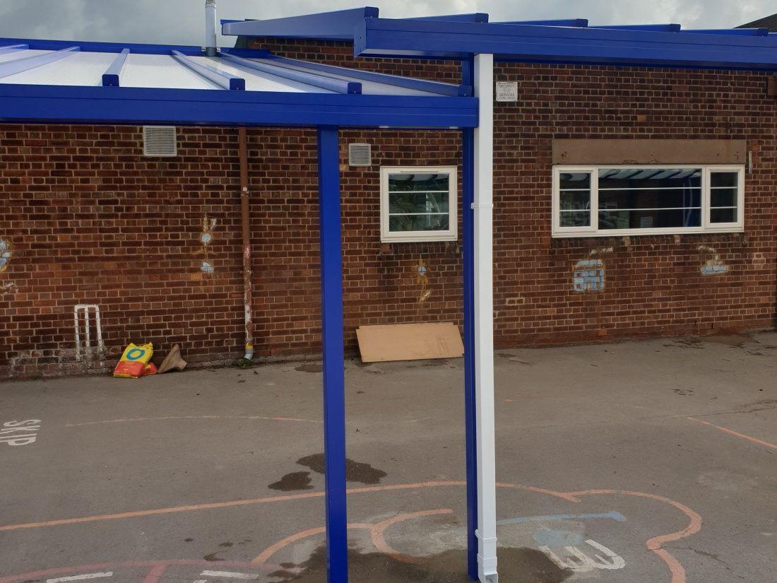 School Canopy Burton on Trent Cambridge Style Canopies