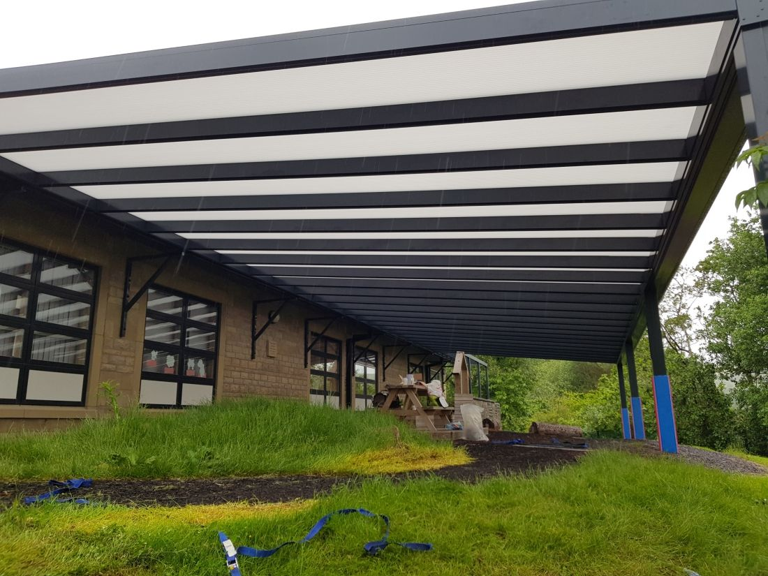 Simplicity Carport School Rawtenstall Lancashire