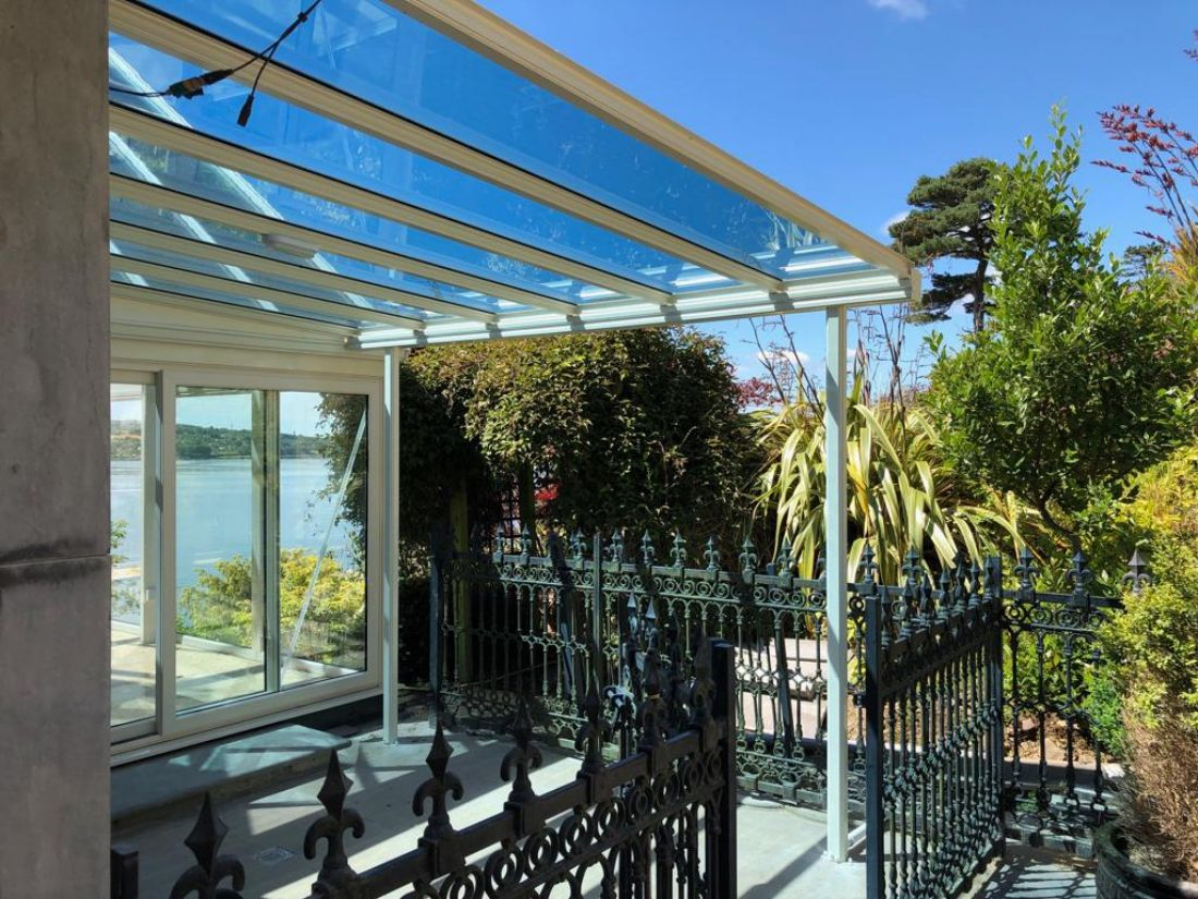 Tinted Glass Veranda Roofit Ireland