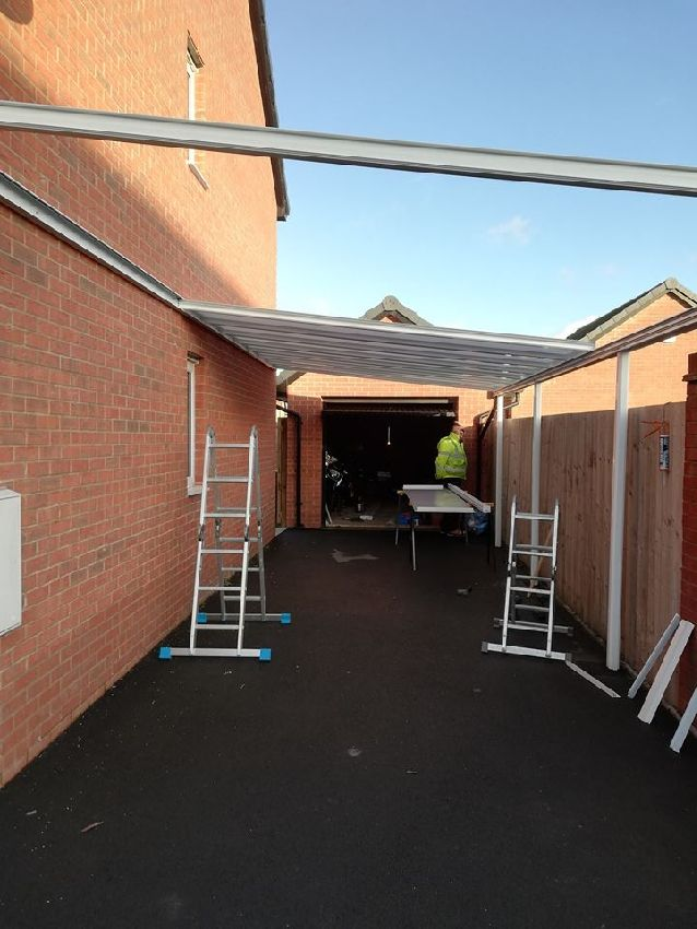 Simplicity 16 White South Wales Carport and Canopies