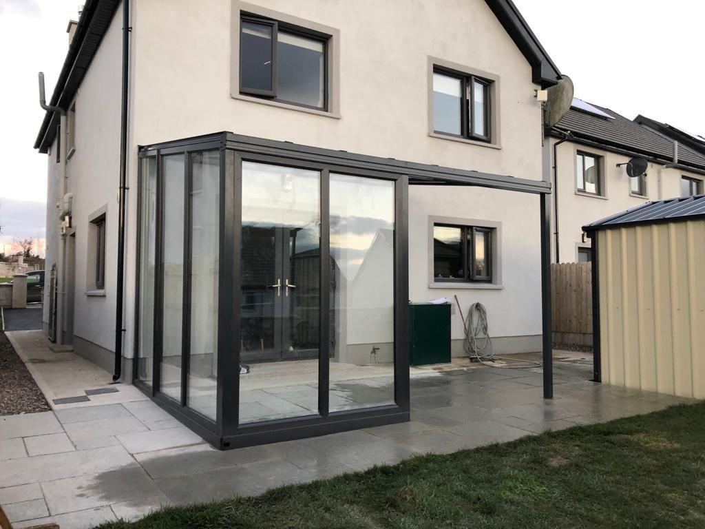 Glass Veranda Glass Sides Ireland Roofit