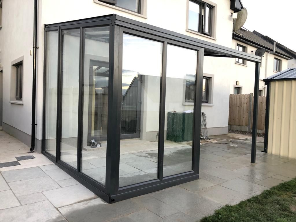 Glass Veranda Roofit Ireland