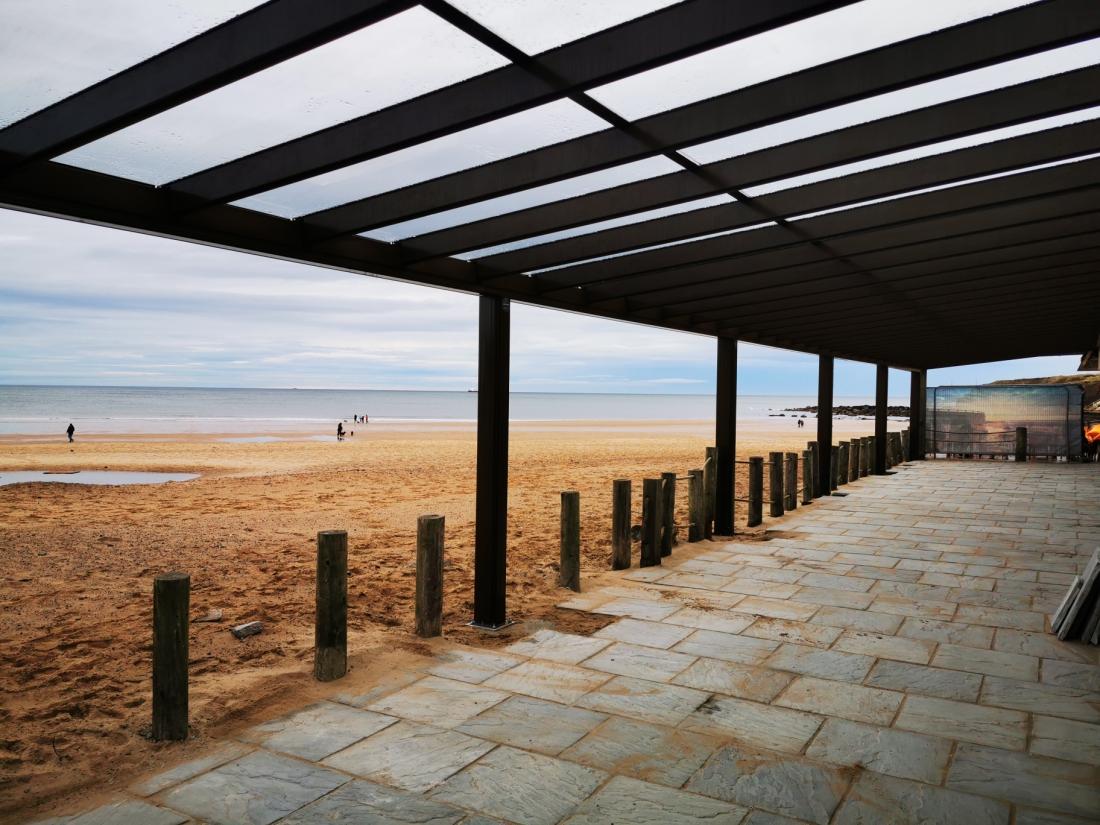 Alfresco Traditional Longsands Tynemouth Sea